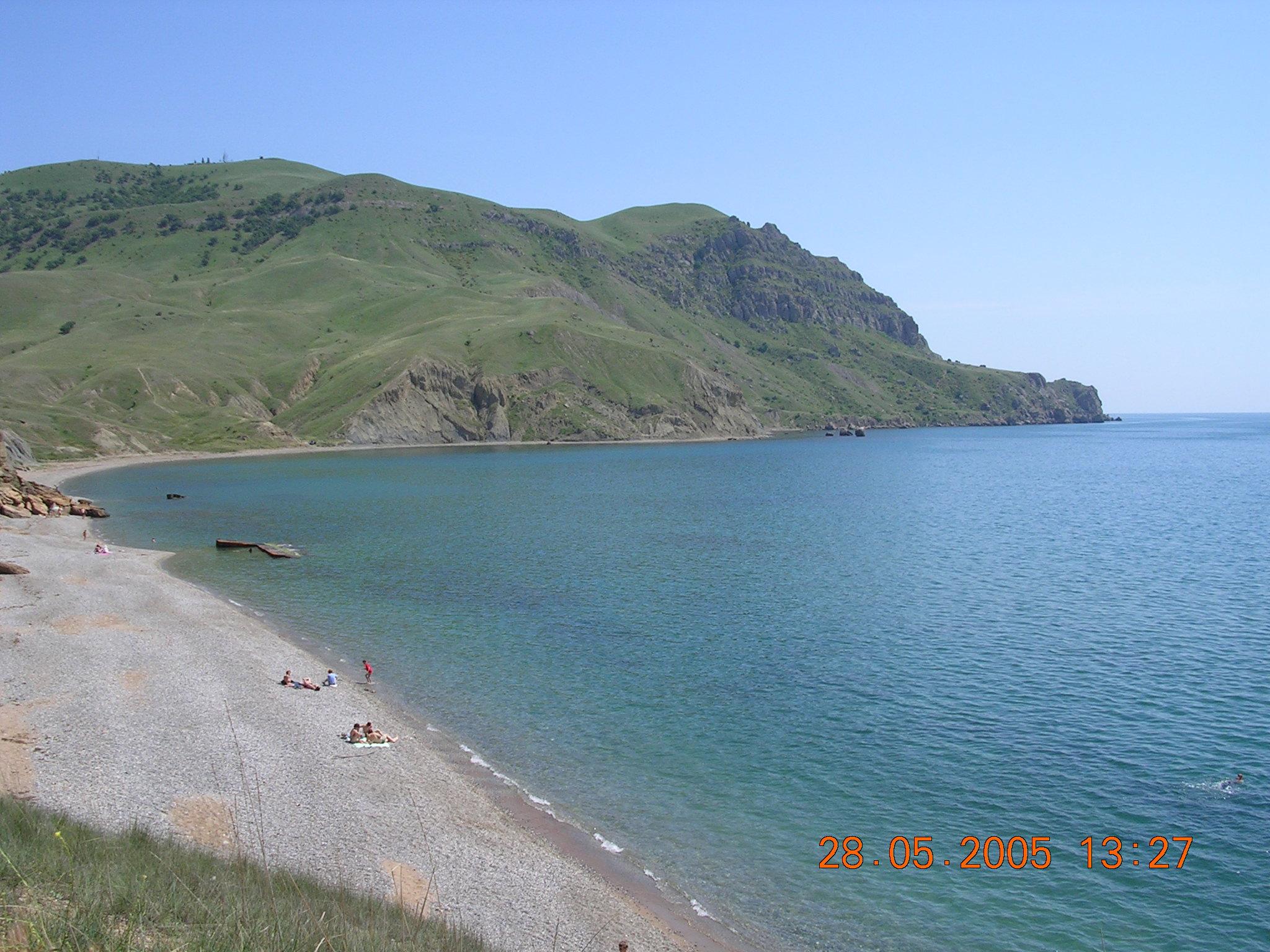 Пляж меганом судак фото